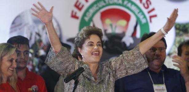 Após o vazamento das gravações, Dilma voltou a falar em golpe contra ela