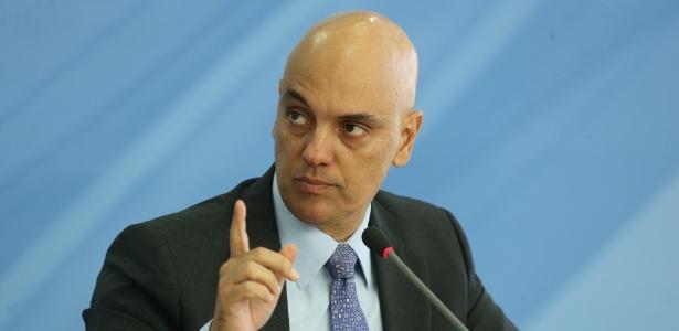 Alexandre de Moraes, então ministro da Justiça, detalha o Plano Nacional de Segurança - André Dusek/Estadão Conteúdo/6.jan.2017