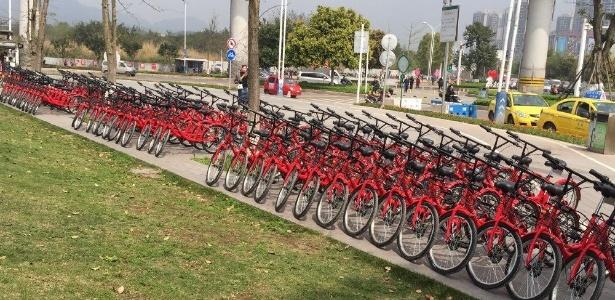 90% das 1.200 bicicletas que a Wukong Bicycle colocou nas ruas foram depredadas