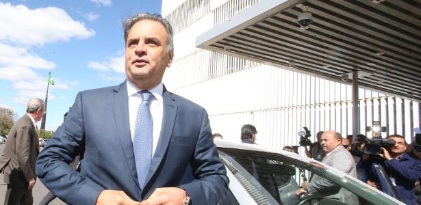 Após mais de um mês afastado, Aécio volta ao Senado - André Duzek/Estadão Conteúdo
