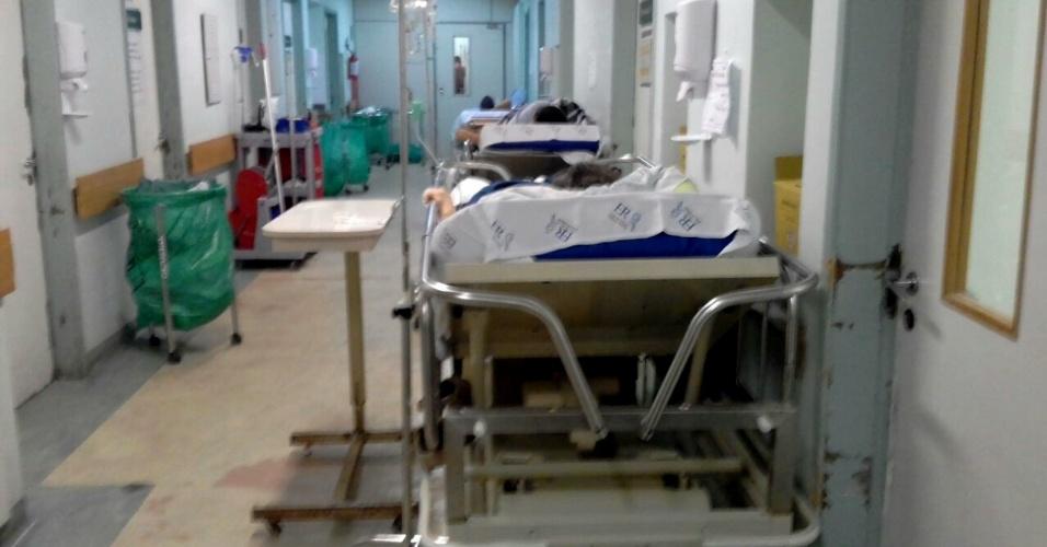 Na segunda-feira 26 de fevereiro, oito pacientes chegaram a esperar no corredor