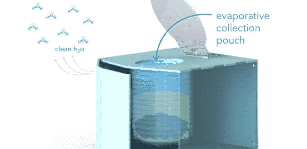 Vaso sanitário que vaporiza cocô Water Labs - Reprodução - Reprodução