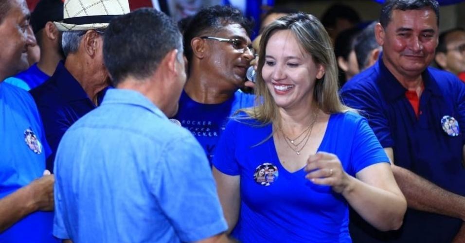 10.out.2018 - Maria Deusdete Rodrigues (PR), a Detinha, 40 anos, recebeu 88.402 votos no Maranhão. Foi a mais votada para a Assembleia Legislativa