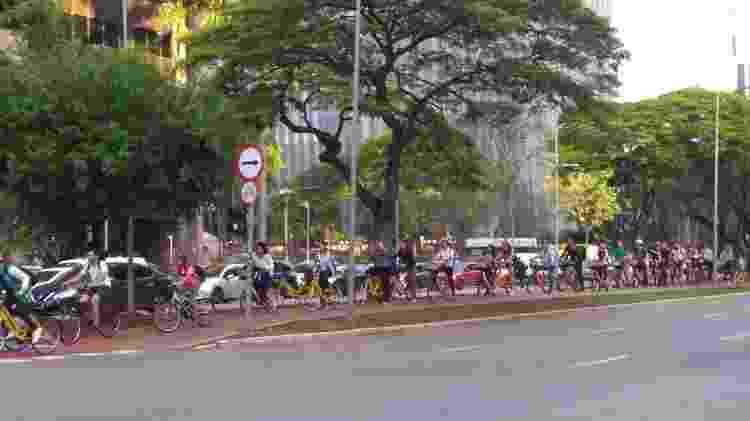 empréstimos de bicicletas - Bernardo Barbosa/UOL - Bernardo Barbosa/UOL