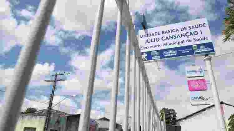 UBS em Pilar, na Grande Maceió, atendida pelo Programa da Saúde da Família - Divulgação - Divulgação