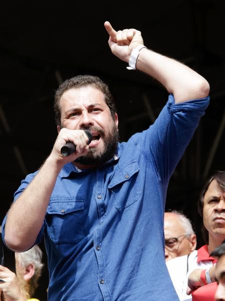 Guilherme Boulos, coordenador do MTST - Alice Vergueiro/Estadão Conteúdo
