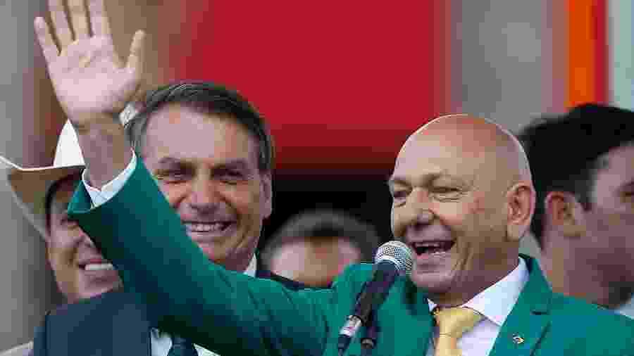 Empresário participou da convenção do Aliança pelo Brasil, partido que o presidente da República, Jair Bolsonaro, tenta fundar - GABRIELA BILó/ESTADÃO CONTEÚDO