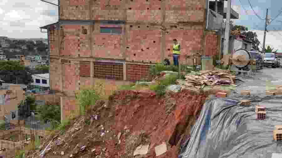 Chuvas em Minas Gerais causaram dezenas de mortes - Divulgação Polícia Civil MG