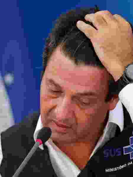 Ministro da Saúde, Luiz Henrique Mandetta, está em processo de fritura dentro do governo - ADRIANO MACHADO