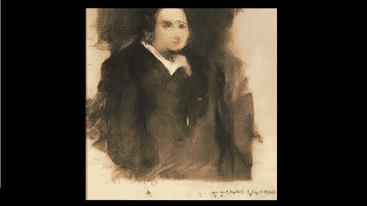 Retrato de Edmond de Belamy - Divulgação/ Christie's - Divulgação/ Christie's