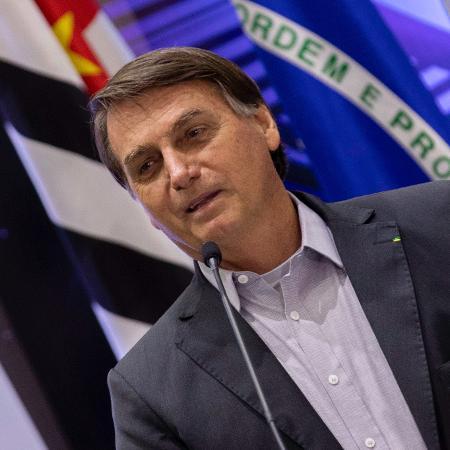 Jair Bolsonaro é investigado por suposta interferência política na Polícia Federal - Bruno Rocha/Fotoarena/Estadão Conteúdo