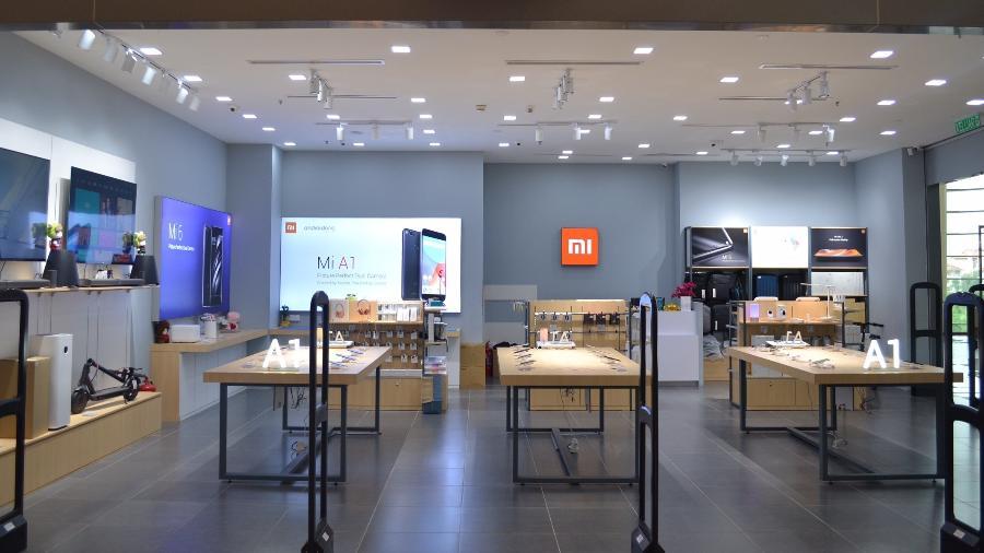 Loja da Xiaomi, marca que se destaca pela sua ascensão na China - Divulgação