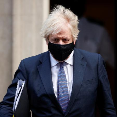 Arquivo - O primeiro-ministro britânico, Boris Johnson, já havia dito que o governo estava buscando maneiras de impedir que a variante entre no país - John Sibley/Reuters