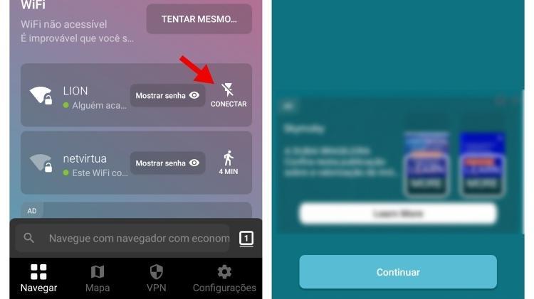 1 - step by step find wifi app Instabridge - Playback - Playback