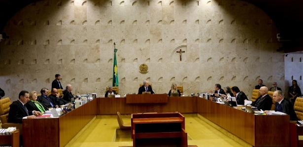 17.dez.2015 - Abertura do segundo dia do julgamento do STF sobre o rito do impeachment da presidente Dilma Rousseff