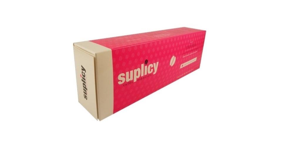 Café Suplicy: R$ 17,90 ? caixa com 10 unidades- O frete gratuito acima de R$100 para entregas no estado de São Paulo e nas cidades de Belo Horizonte, Curitiba, Florianópolis e Rio de Janeiro
