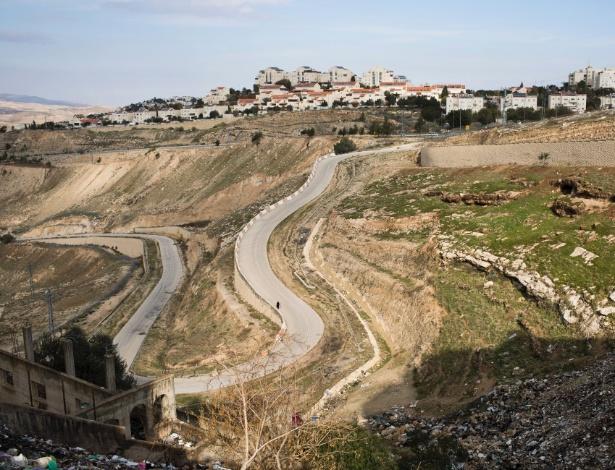 Ma'ale Adumim, um assentamento judaico na Cisjordânia