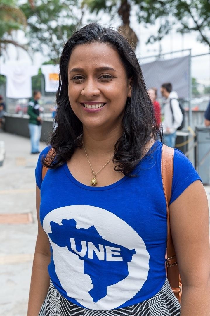 Bruna Chaves defende que a universidade se popularizou e diz que é papel dos movimentos estudantis lutar para que isso se mantenha