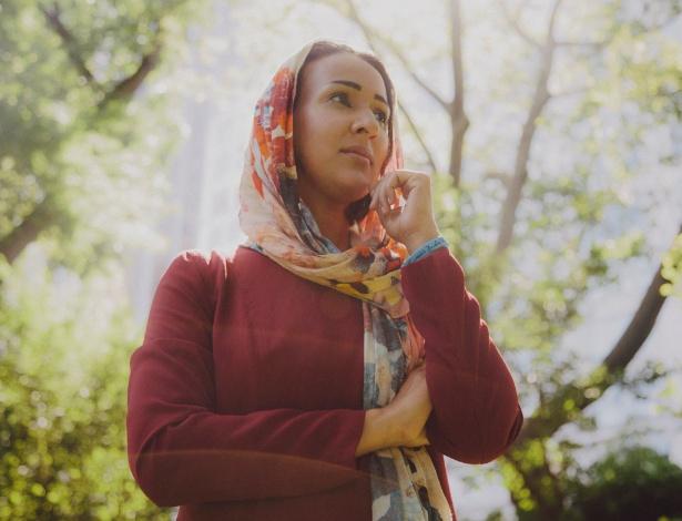 Manal al-Sharif, defensora do direito das mulheres na Arábia Saudita, em Nova York