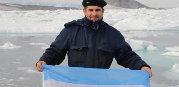 Hernán Rodriguez, 44, é um dos marinheiros desaparecidos