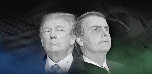 Resultado de imagem para trump e bolsonaro