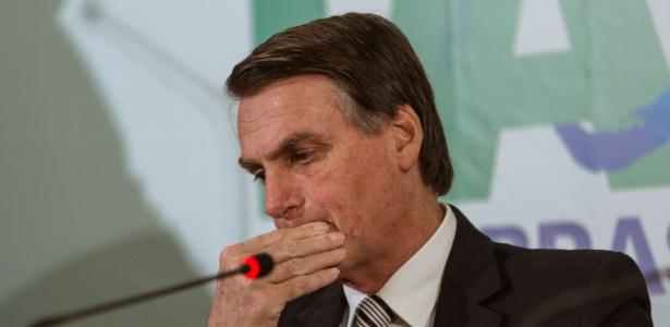 Deputado Jair Bolsonaro dá entrevista em evento promovido pelo PEN em agosto