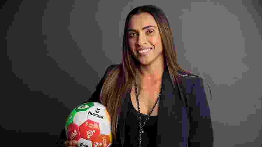 A jogadora de futebol Marta - Ryan Brown/ONU Mulheres