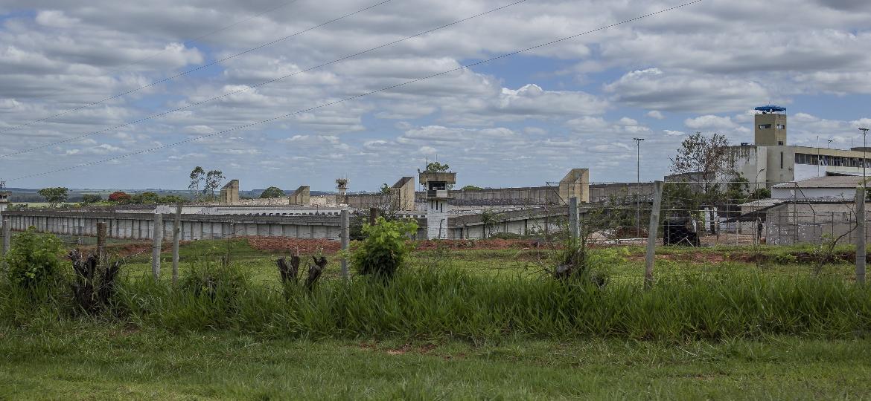 Penitenciária 2 de Presidente Venceslau, no interior de São Paulo, onde ficam abrigados integrantes do PCC - 21.nov.2018 - Jardiel Carvalho/Folhapress