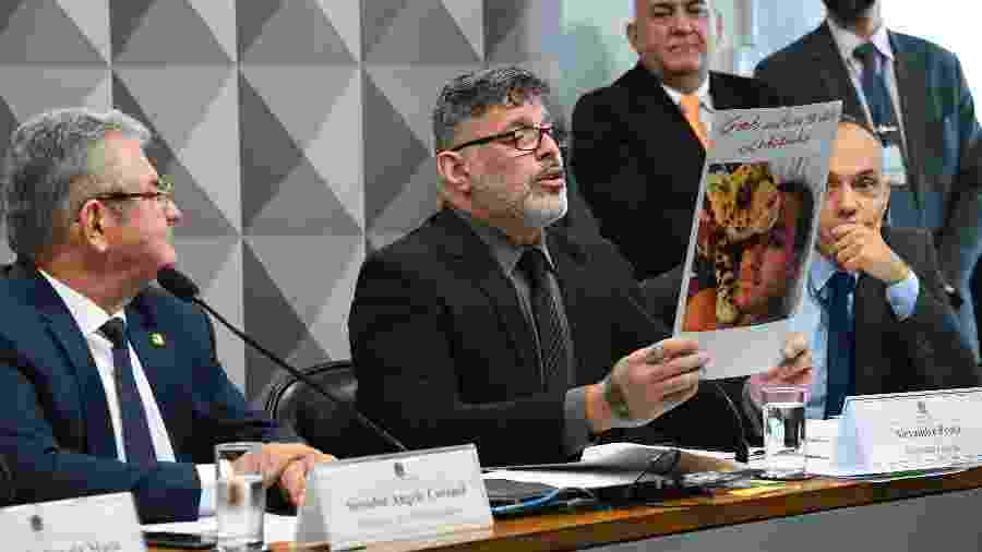 Alexandre Frota cantou parabéns para o caso Queiroz - Roque de Sá/Agência Senado