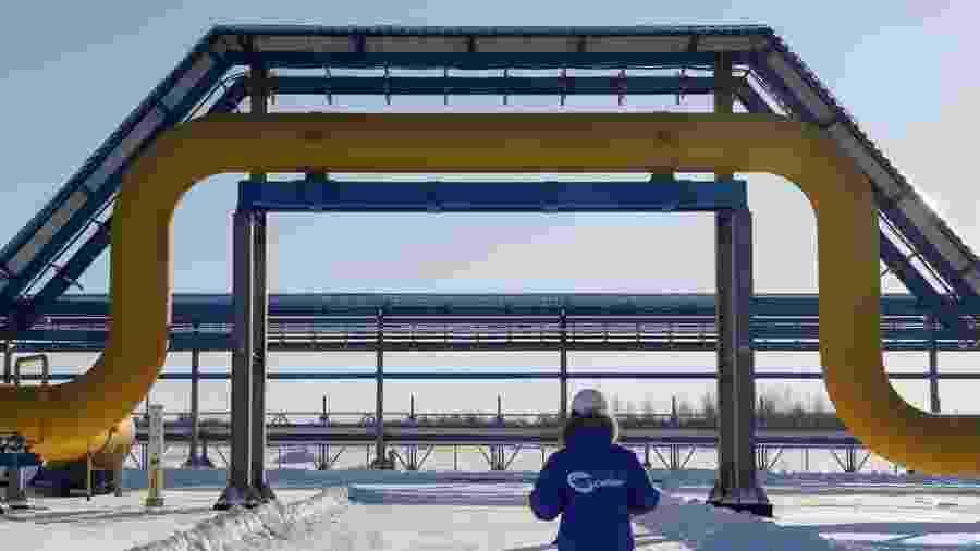 O gasoduto Força da Sibéria fornecerá 38 bilhões de metros cúbicos de gás por ano - Reuters