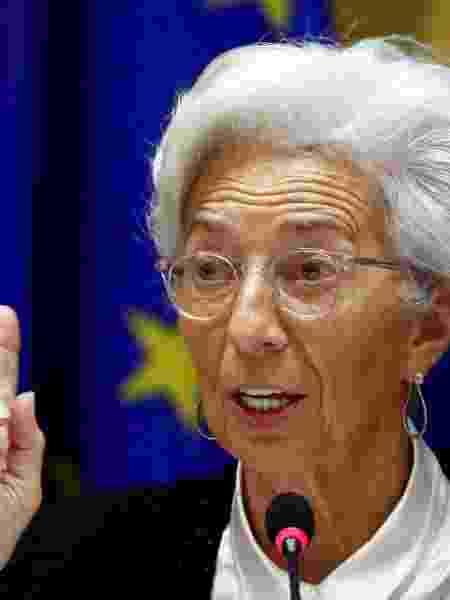 Presidente do Banco Central Europeu, Christine Lagarde - Por Balazs Koranyi e Francesco Canepa