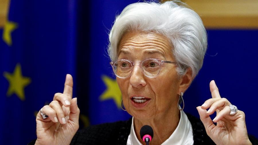 Presidente do Banco Central Europeu, Christine Lagarde - FRANCOIS LENOIR