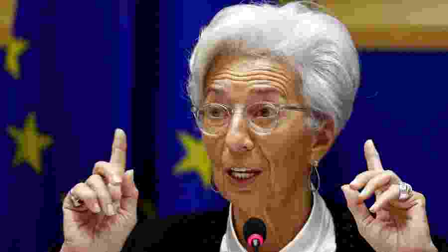 Presidente do Banco Central Europeu, Christine Lagarde - FRANCOIS LENOIR