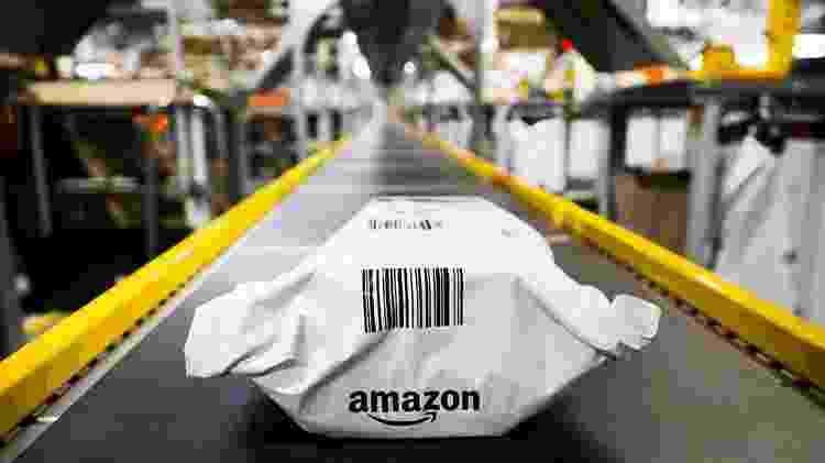 A Amazon conseguiu obter US$ 87,4 bilhões em receita durante o último trimestre de 2019 - Getty Images