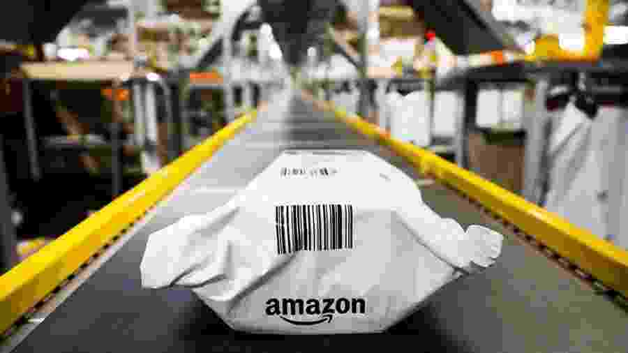 A Amazon chegou a valer US$ 1,1 trilhão - Getty Images