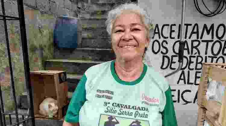 Maria Betânia Pereira, 61, moradora de Paraisópolis há 48 anos - Cleber Souza/UOL