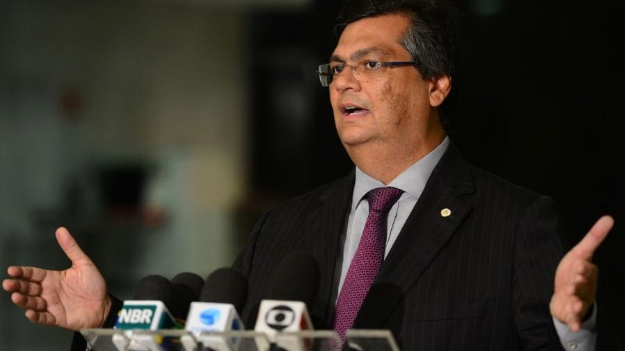 O governador do Maranhão, Flávio Dino concede entrevista coletiva a jornalistas - Fabio Rodrigues Pozzebom/Agência Brasil