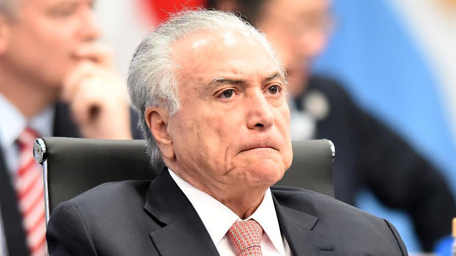 O ex-presidente Michel Temer falou sobre o governo Bolsonaro - Amilcar Orfali/Getty Images
