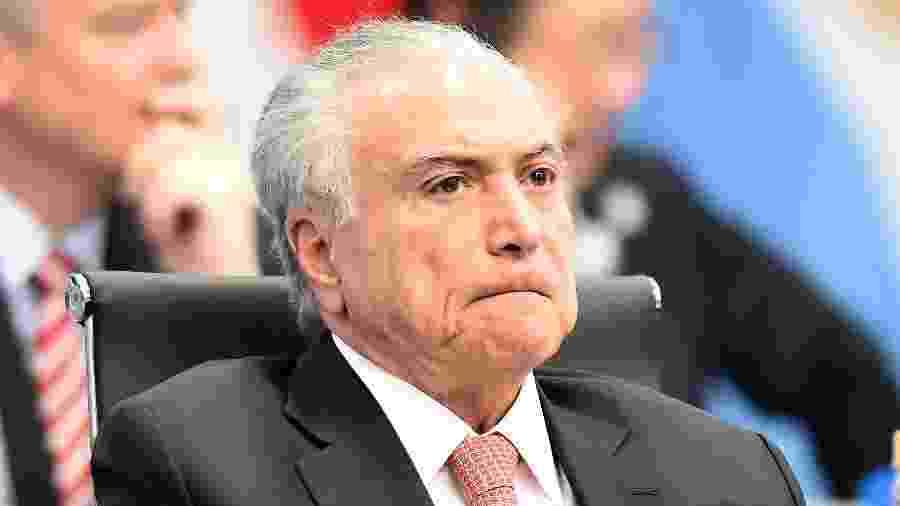 O ex-presidente Michel Temer - Amilcar Orfali/Getty Images