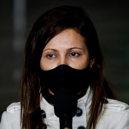 Patrícia Ellen pediu aos manifestantes que não bloqueiem vias e disse que não há hipótese de o estado de SP não entrar em fase vermelha - ALOISIO MAURICIO/FOTOARENA/FOTOARENA/ESTADÃO CONTEÚDO