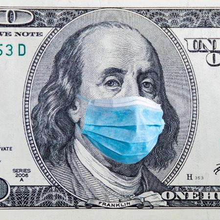 dólar, EUA, Estados Unidos, coronavírus, covid-19 - Getty Images
