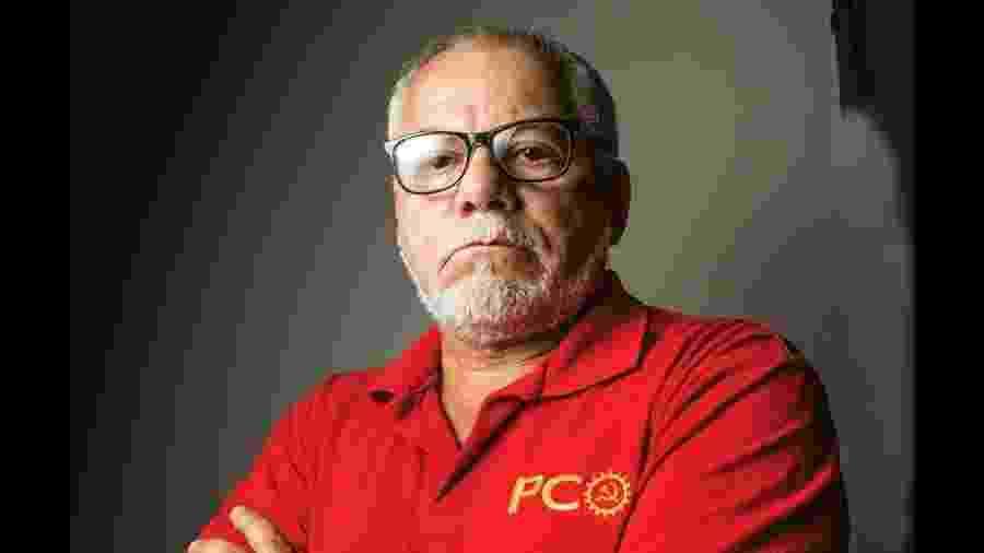Antonio Carlos Silva é candidato do PCO a prefeito de São Paulo - Divulgação