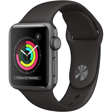 Relogio Watch Series 3 38mm GPS Preto MTF02LL/A Apple - Divulgação - Divulgação