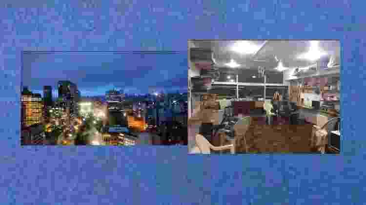 Vista do mirante lab e sala do mirante lab - Arquivo pessoal/ Akin Abaz - Arquivo pessoal/ Akin Abaz