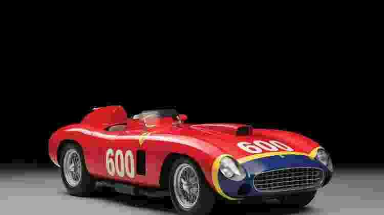 Ferrari 290 MM 1956 - RM Sotheby?s / Divulgação  - RM Sotheby?s / Divulgação