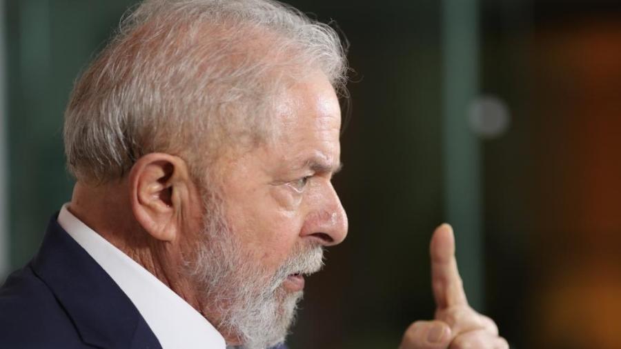 Lula durante entrevista para o jornalista Reinaldo Azevedo, do programa É da Coisa - Ricardo Stuckert