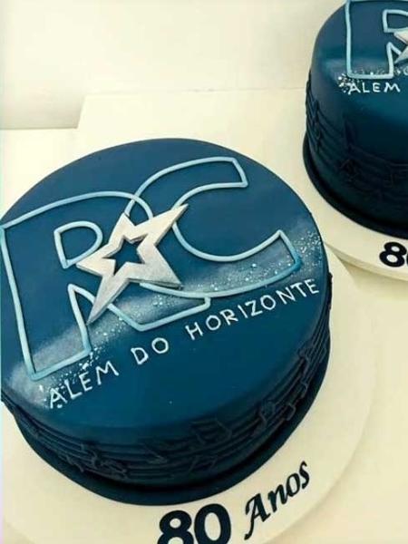 BBB 21: Bolo em comemoração aos 80 anos de Roberto Carlos que os brothers vão degustar em festinha desta segunda-feira - Reprodução/Globo