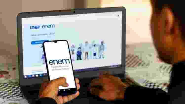 Desempenho no Enem se tornou critério para o Fies há seis anos - Getty Images - Getty Images