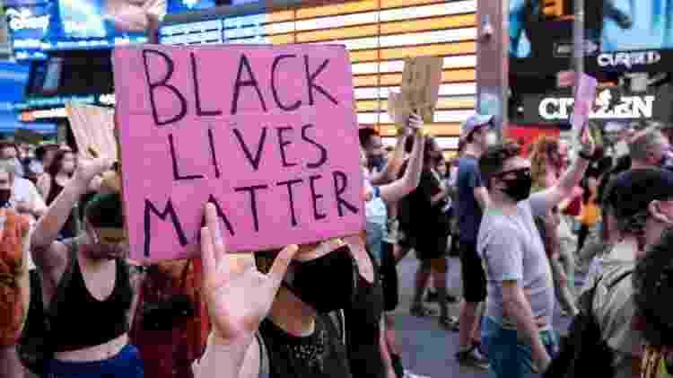 2020 foi marcado por protestos contra racismo e brutalidade policial nos EUA - Ira L. Black/Corbis via Getty Images - Ira L. Black/Corbis via Getty Images