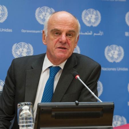 Alerta foi feito pelo enviado especial da OMS, David Nabarro (foto) - Eskinder Debebe/UN Photo